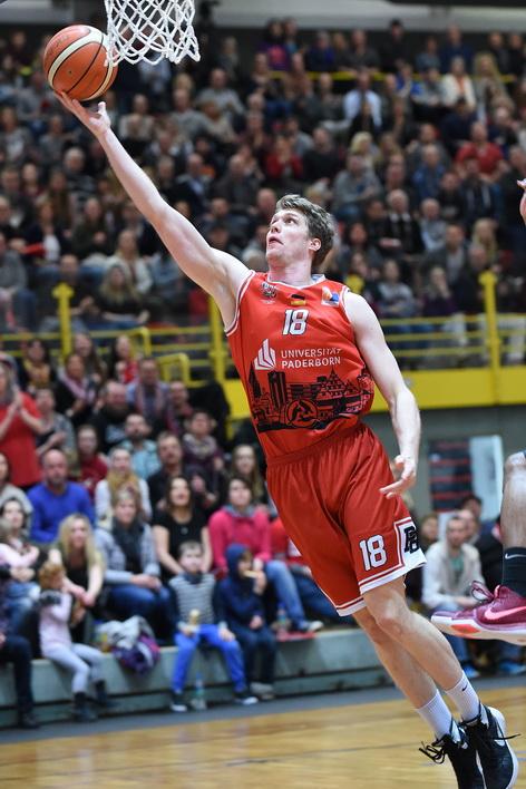 Till Gloger verdiente sich mit einigen starken Spielen den Sprung in die BBL. (Foto: Ulrich Petzold)