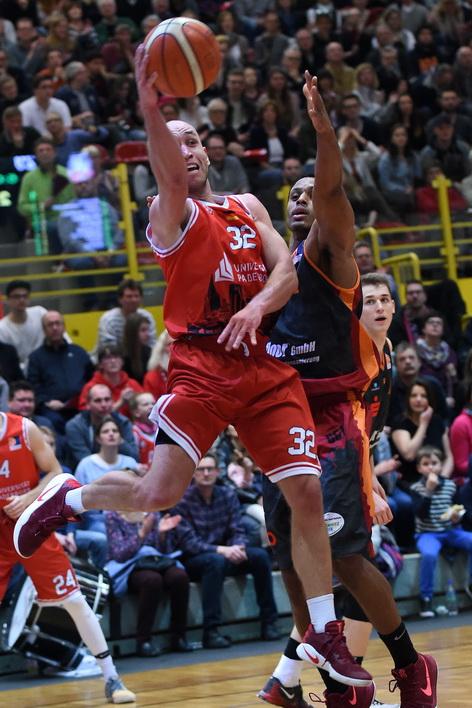 Gegen den MBC wollen die Uni Baskets nochmal alles in die Waagschale werfen. (Foto: Ulrich Petzold)