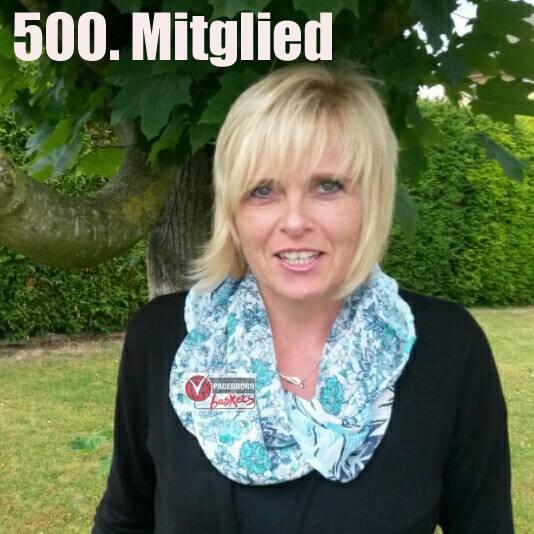 500. Mitglied: Alexandra Wortmeier