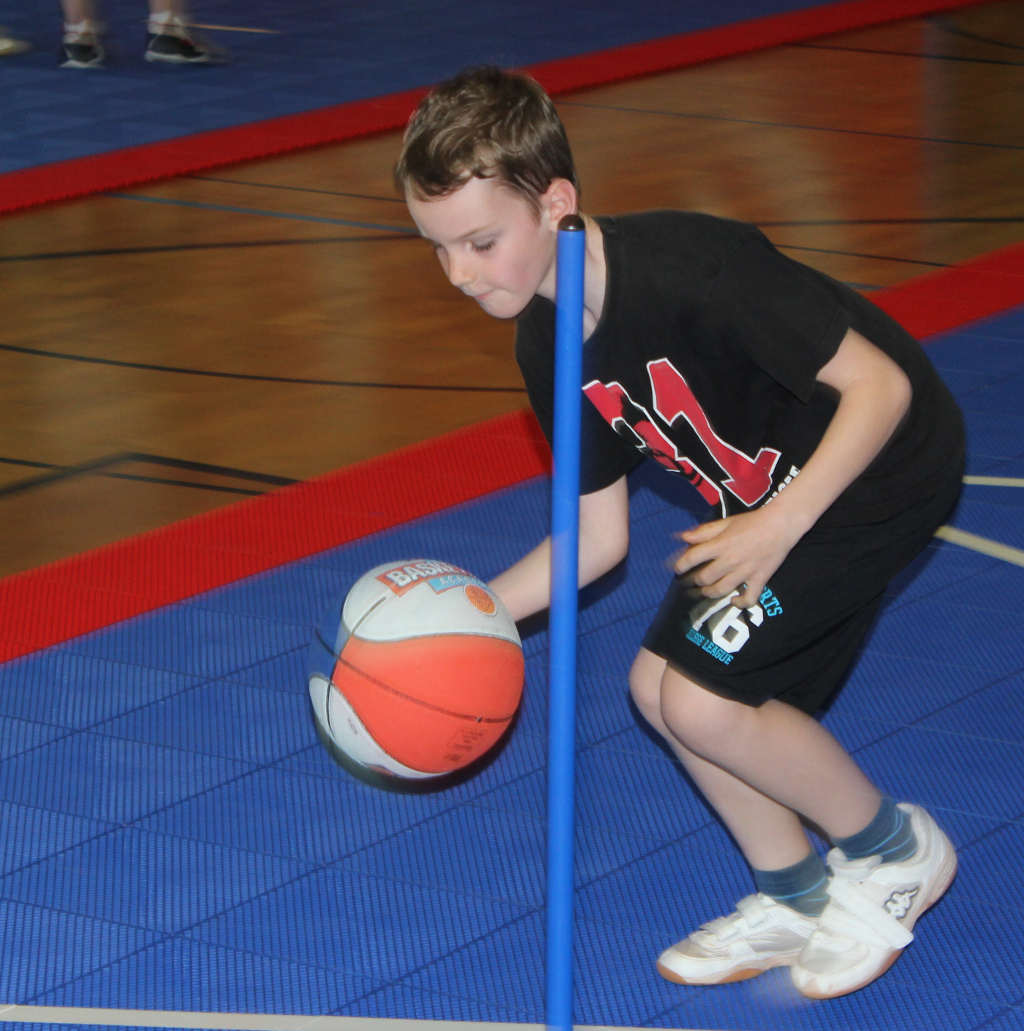 kinder+Sport Basketball Academy: Parcours