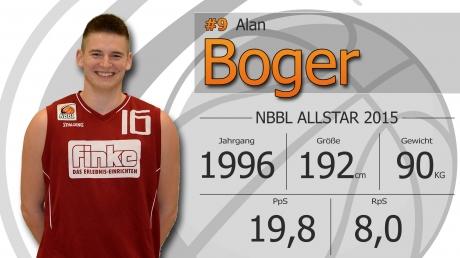 Alan Boger - NBBL Allstar 2014/15
