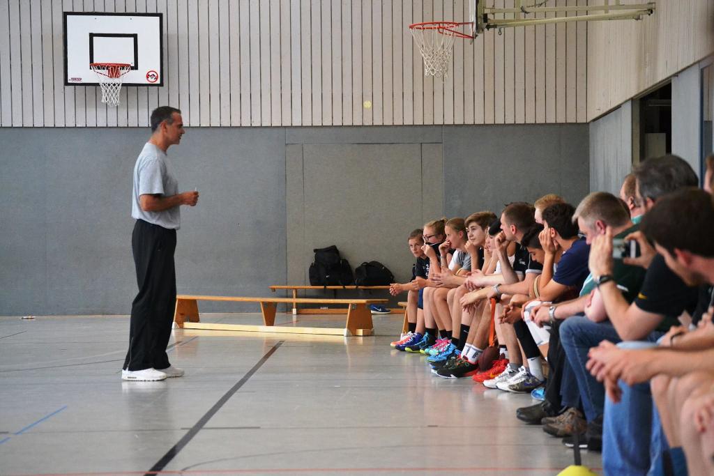 Dirk Bauermann - Trainerfortbildung am 8. Juni 2015