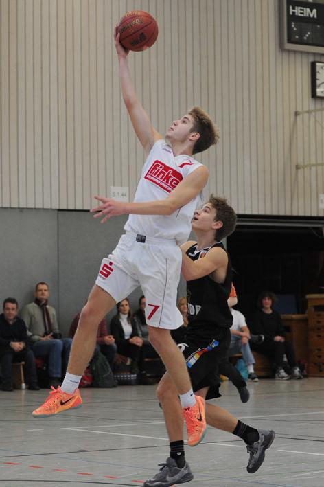 U16-Topscorer Alexander Engel (17.4 Punkte pro Spiel)