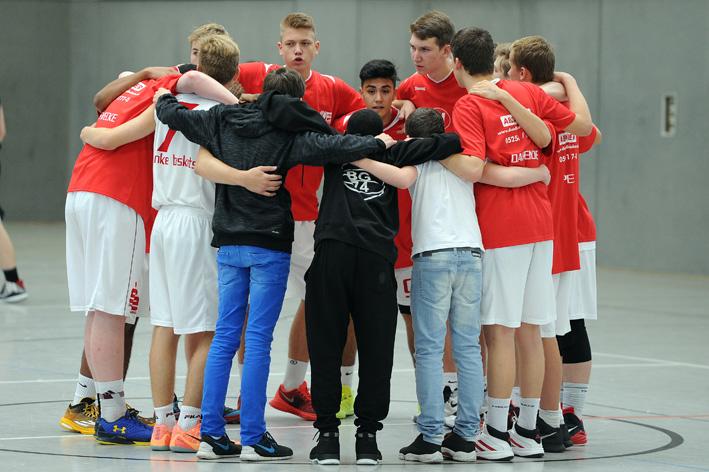 Alles oder nichts - Die U16 der Paderborn Baskets muss am Sonntag gegen Gotha gewinnen. Sonst ist die Saison beendet.