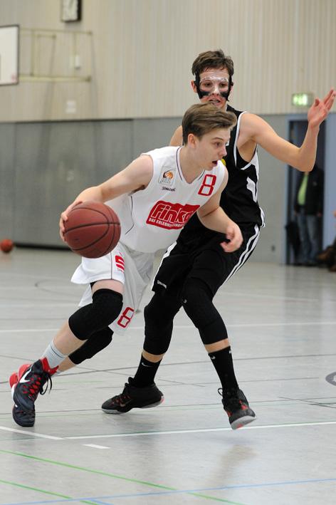 Nick Mayer - JBBL - vs. Metropol Baskets - Saison 2015/16