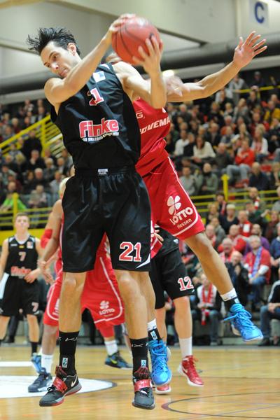 2013 12 01 finke baskets - Giessen 46ers