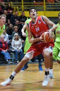 Entschlossen zum Sieg gegen Trier: Ivan Buntic. (Foto: Ulrich Petzold)