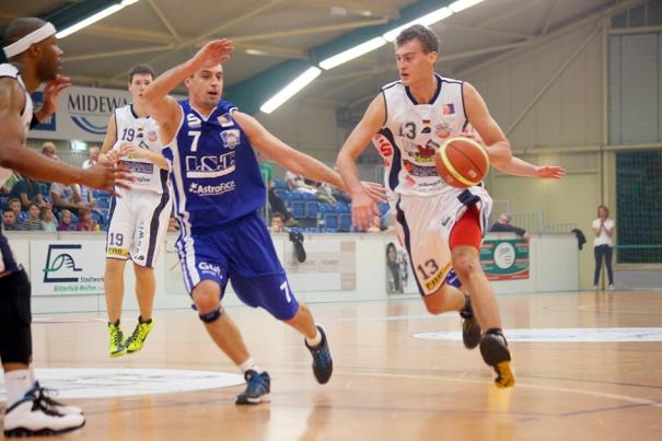 Phillip Daubner ist der erste Neuzugang im Team der finke baskets