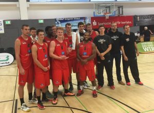 Sieger in Iserlohn: Die finke Baskets