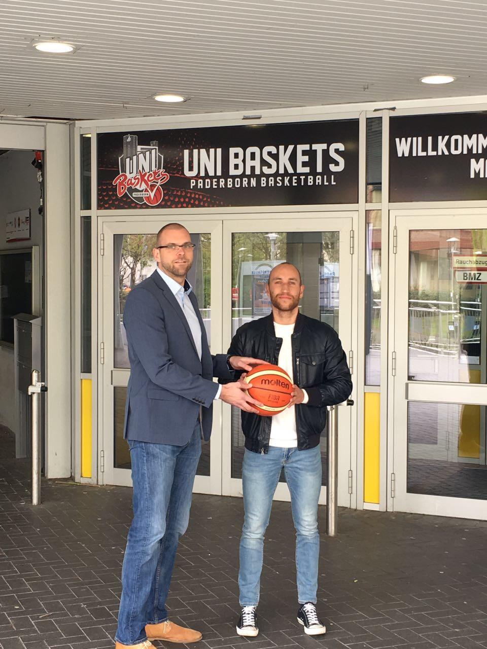 Maxi Kuhle freut sich auf eine weitere Saison in Paderborn.