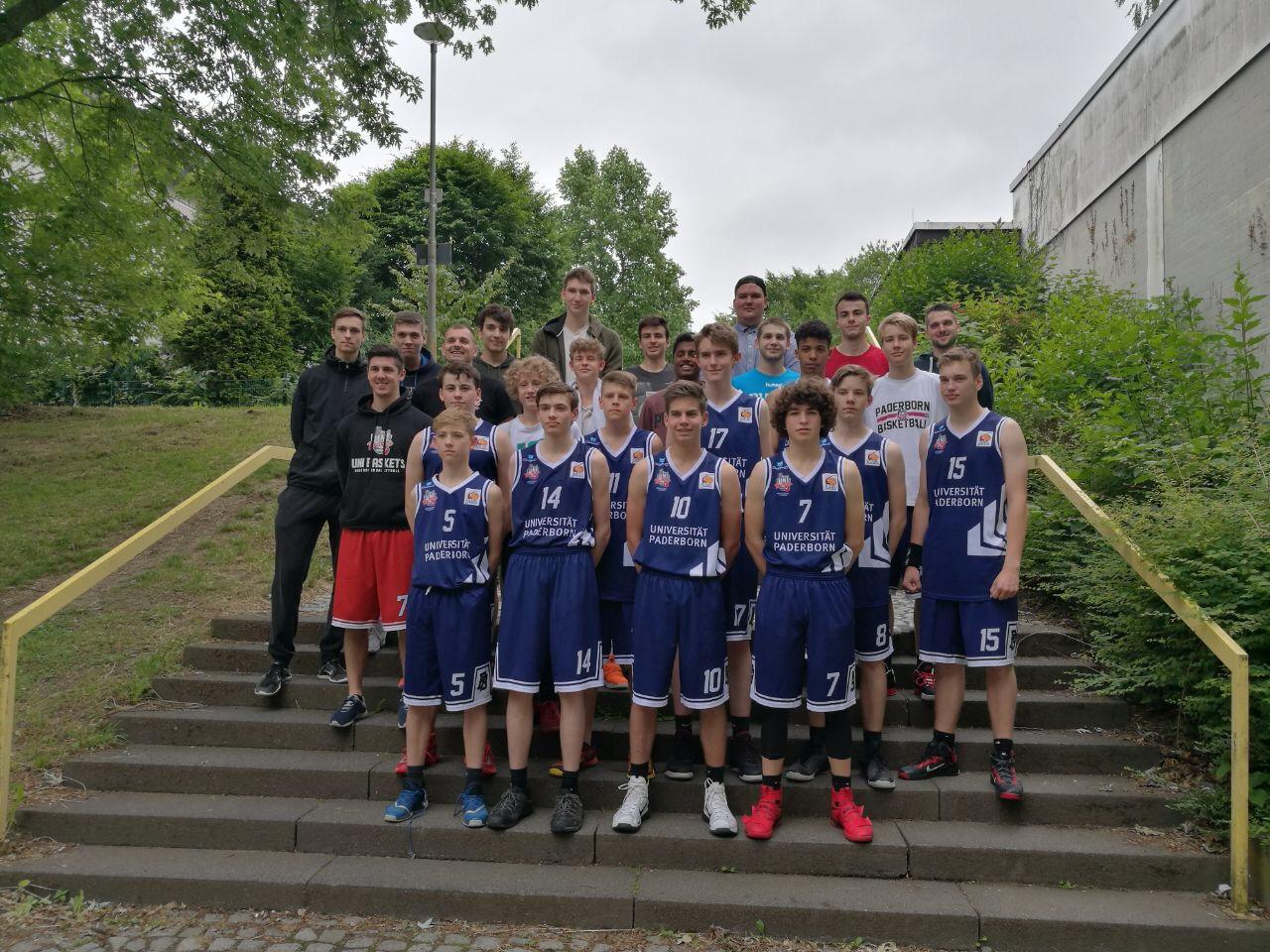 Die JBBL und NBBL waren bei den Ruhr Games im Einsatz.