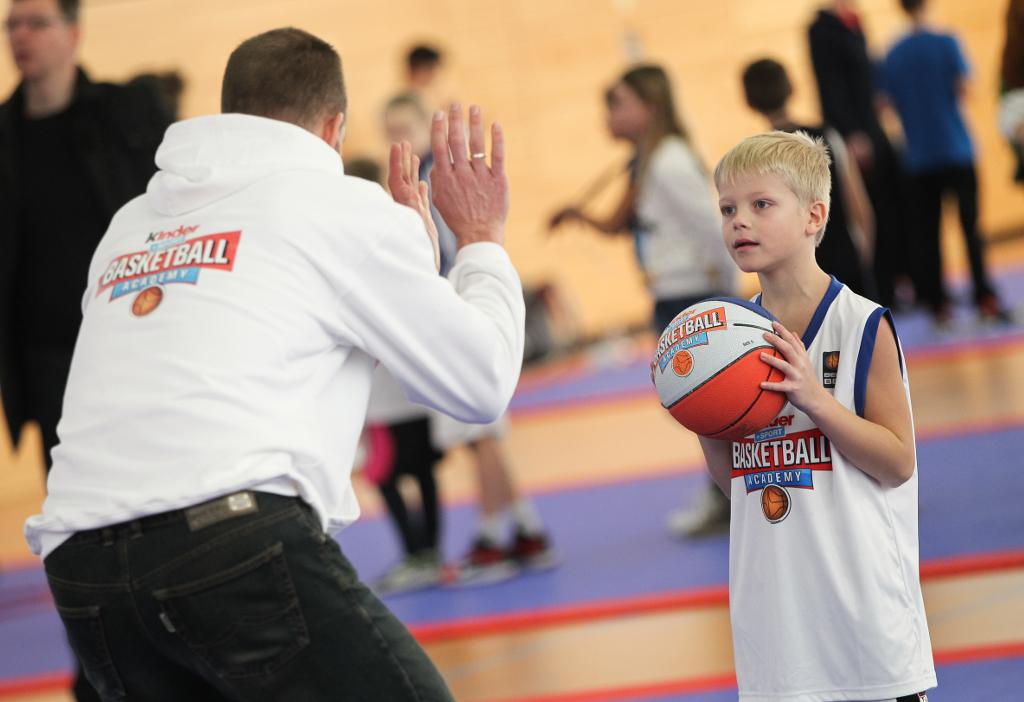 Kinber+sport Basketball Academy Impression