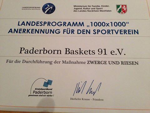 """Landesprogramm 1000x1000 für """"Zwerge & Riesen"""""""