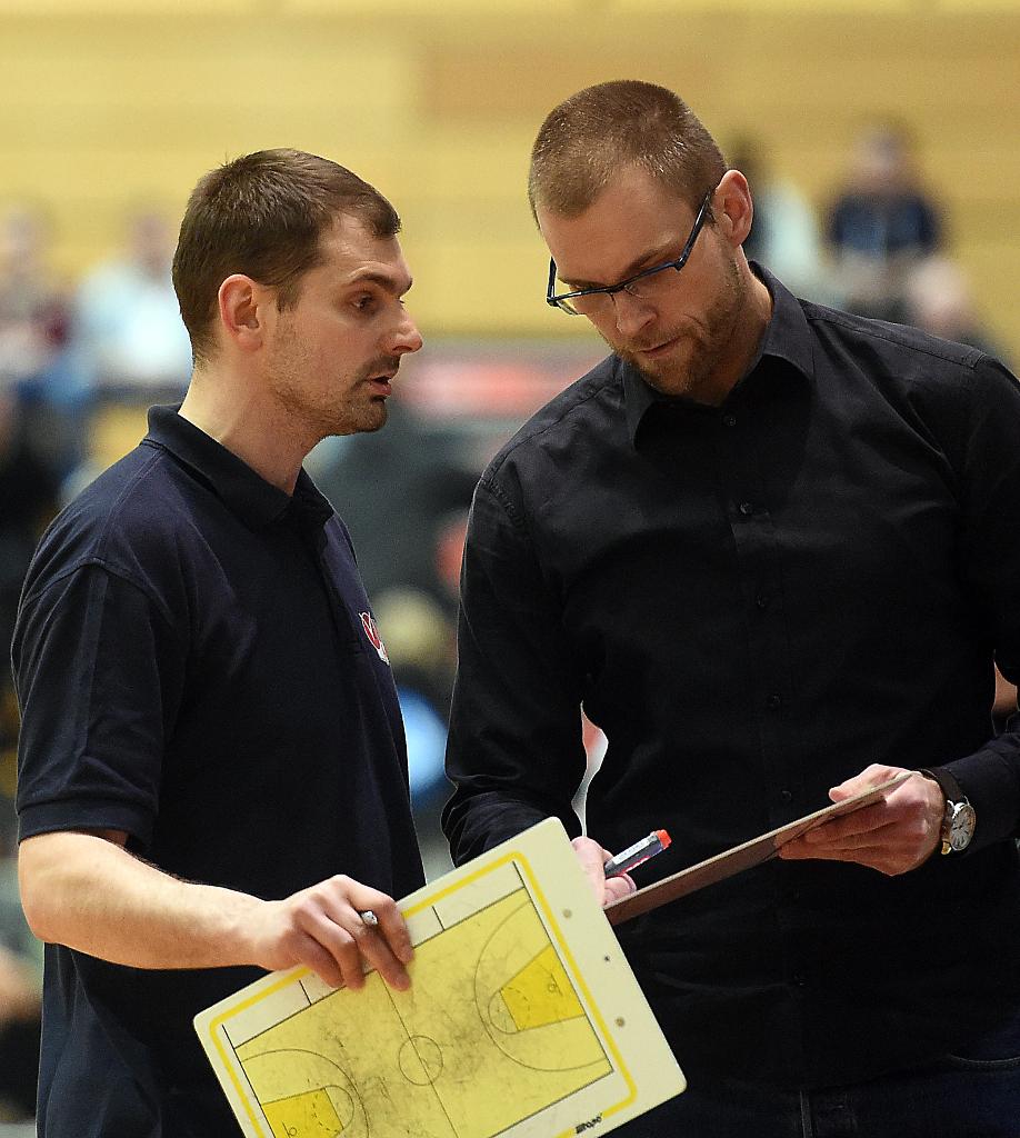 Ein eingespieltes Trainerteam auch in der kommenden Saison: Nikola Milosevic und Uli Naechster