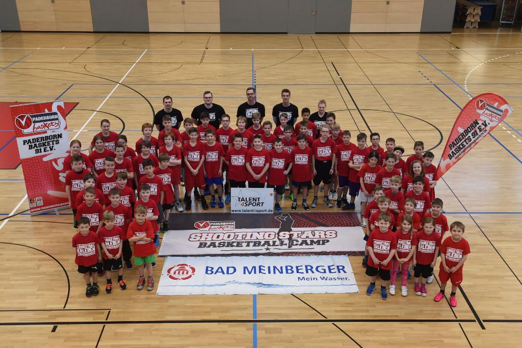 Shooting Stars Basketball Ostercamp 2016
