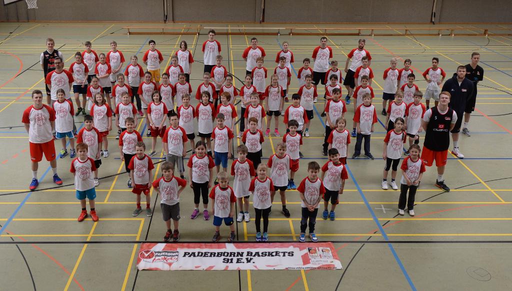 Foto des diesjährigen Ostercamps