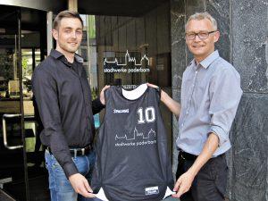 Freuen sich über gute Zusammenarbeit: Christian Müller (r.) und Marco Striewe