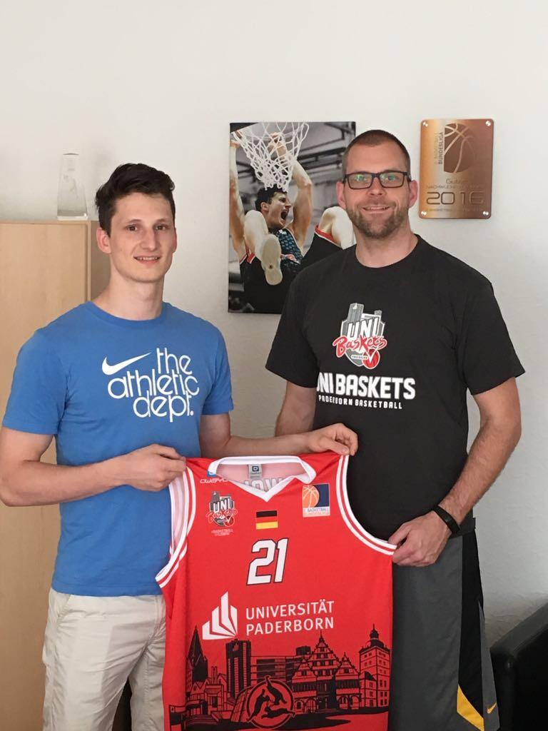 Dominik Wolf und Uli Naechster.