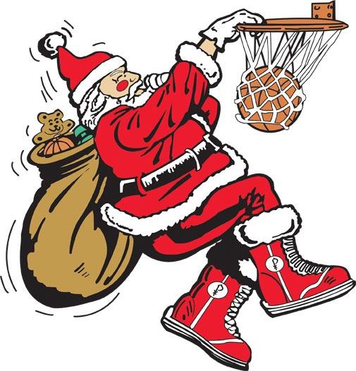Santa am dunken