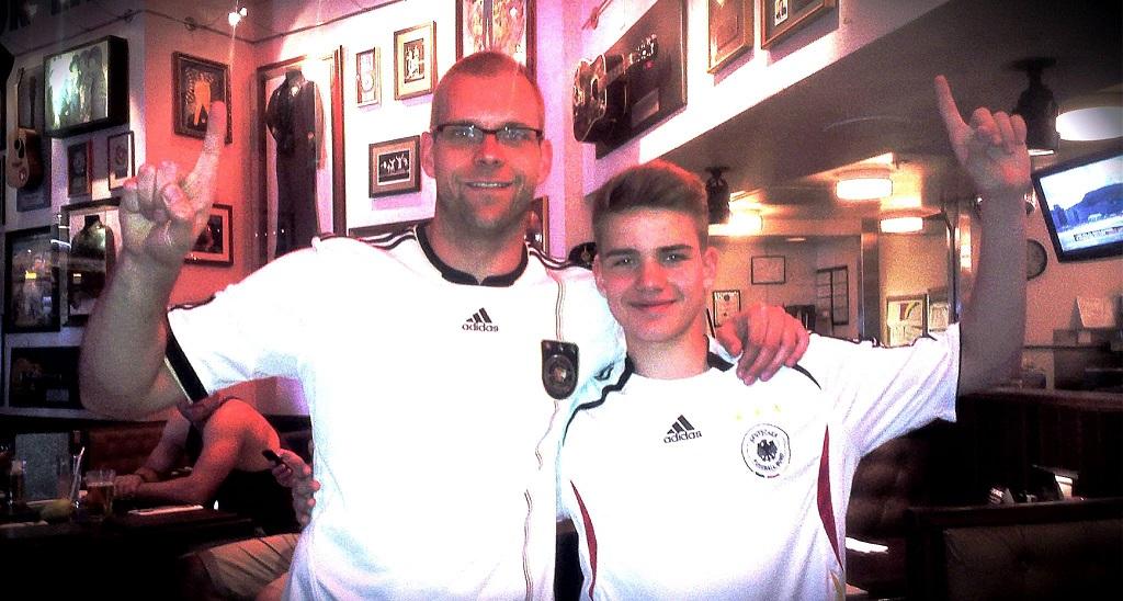 Malte Stenzel und Uli Naechster beim WM-Finale
