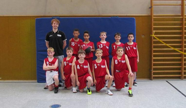 Toller 3. Platz beim Turnier in Hagen für die U10 der finke baskets