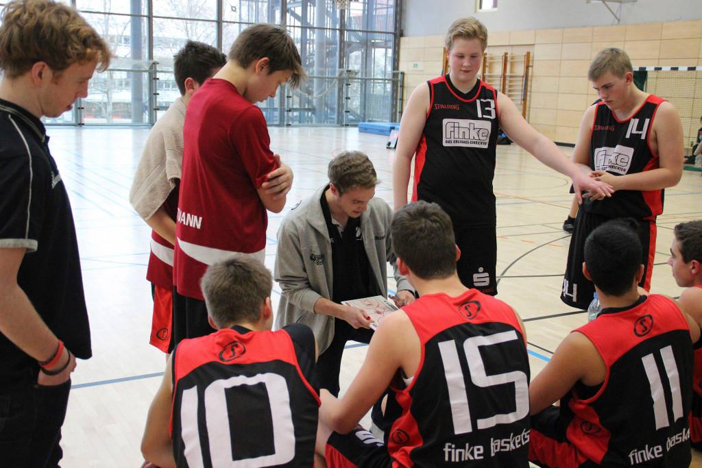 Coach Sebastian Heile war trotz der Niederlage nicht unzufrieden mit der Leistung seiner Mannschaft